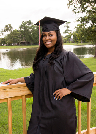 Cap and Gown, outdoor photography, beautiful young lady